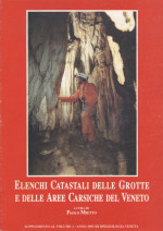 Speleologia Veneta - Supplemento al Volume 01 - Anno 1993